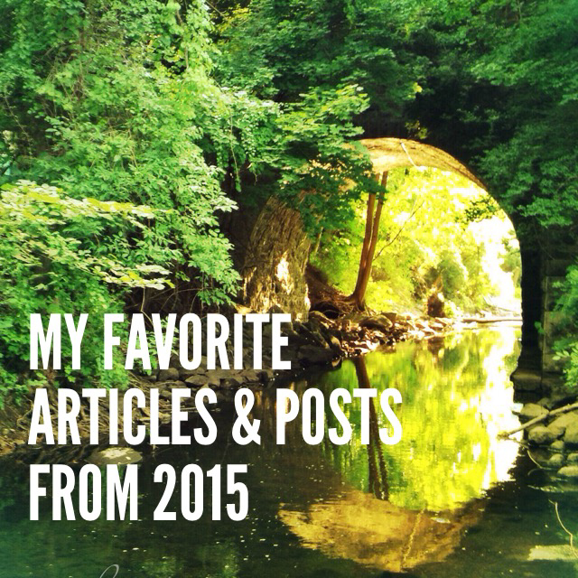 My Favorite Articles and Posts from 2015