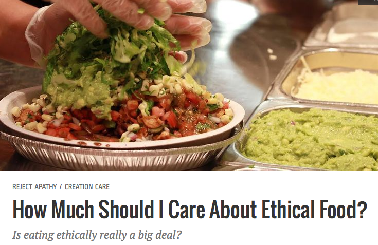 Should I Care about Ethical Eating ?