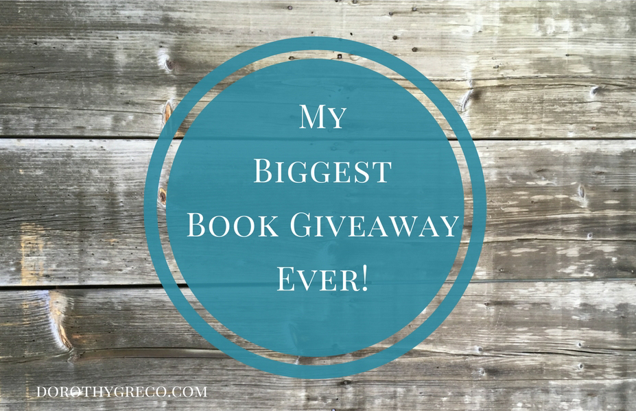 My Biggest Book Giveaway Ever!