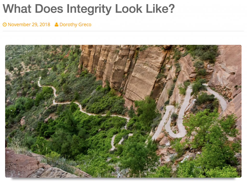 What Does Integrity Look Like? – Kyle Chalko
