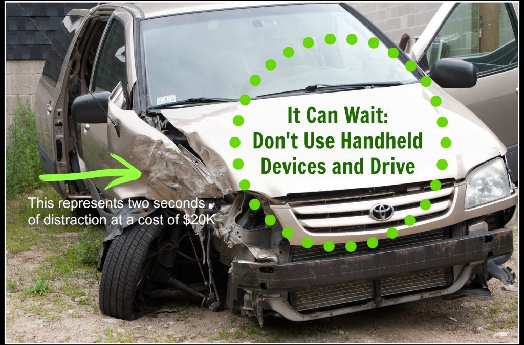 It Can Wait! Don't Text, Call, or Otherwise Multitask While Driving